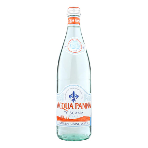 Acqua Panna - Spring Water Natural Glass - Case Of 12-25.3 Fz