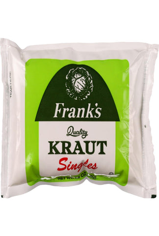 Franks Kraut - Single Serve - 1.5 Oz - Case Of 18