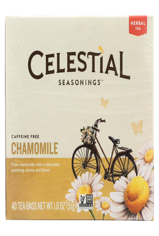 Celestial Seasonings Chamomile Herbal Tea - Case Of 6 - 40 Bag