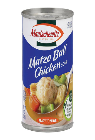 Manischewitz Chicken Matzo Ball Natural - Case Of 12 - 14 Oz.