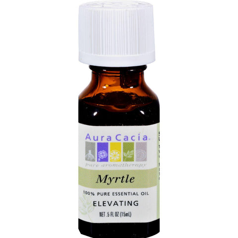 Aura Cacia Pure Essential Oil Myrtle - 0.5 Fl Oz