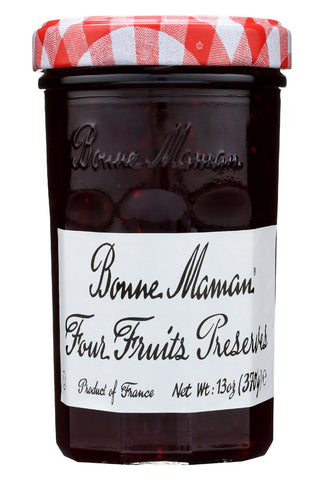 Bonne Maman Conserve - Four Fruit - Case Of 6 - 13 Oz.