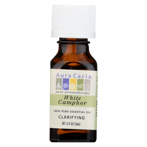 Aura Cacia - Essential Oil Camphor - 0.5 Fl Oz.