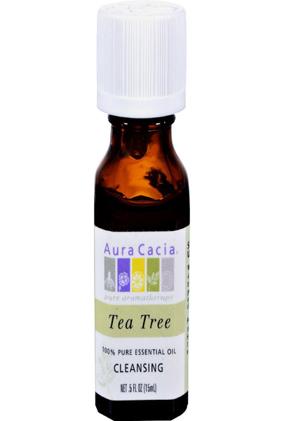 Aura Cacia Pure Essential Oil Tea Tree - 0.5 Fl Oz