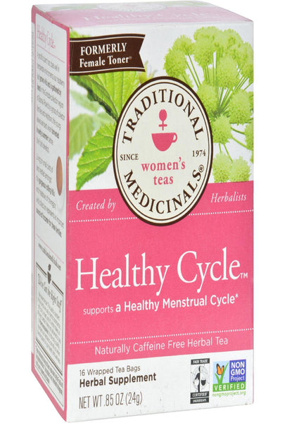 Traditional Medicinals Female Toner Herbal Tea - Caffeine Free - 16 Bags