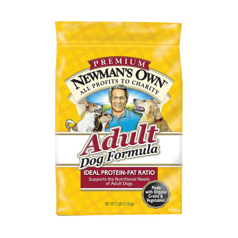 Newman's Own Organics Adult Dog Dry Formula - Chicken - Case Of 4 - 7