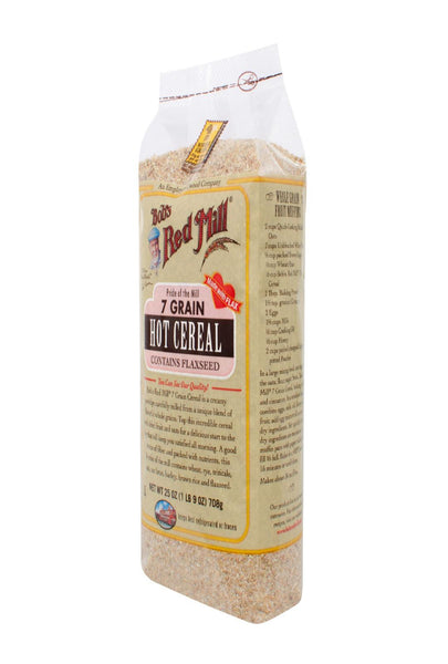 Bob's Red Mill 7 Grain Hot Cereal - 25 Oz - Case Of 4