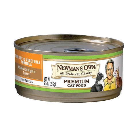 Newman's Own Organics Organic Turkey - Vegetable - Case Of 24 - 5.5 Oz.