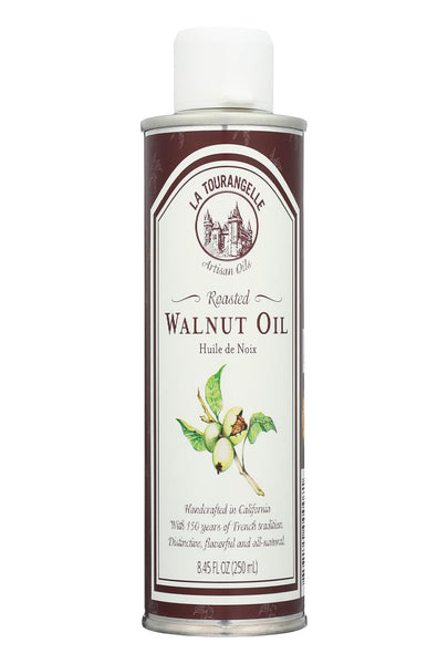 La Tourangelle Roasted Walnut Oil - Case Of 6 - 250 Ml