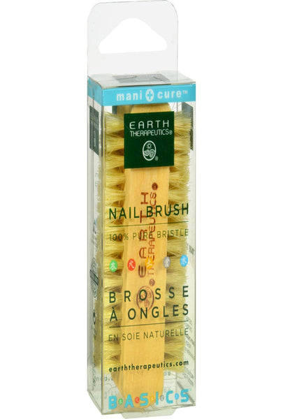 Earth Therapeutics Professional Nail Brush 100% Pure Bristle - 1 Brush