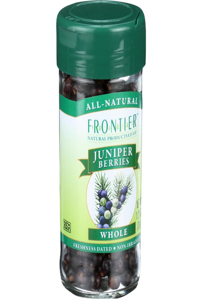 Frontier Herb Juniper Berries - Whole - Select - 1.28 Oz