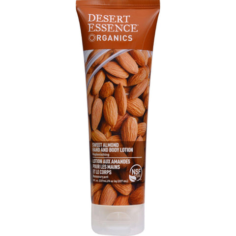 Desert Essence Hand And Body Lotion Almond - 8 Fl Oz