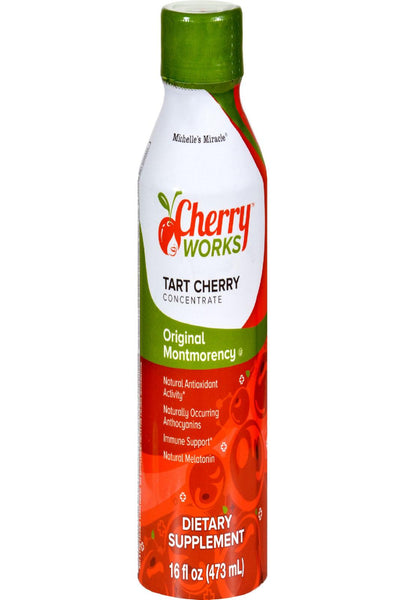 Michelle's Miracle Original Tart Montmorency Cherry Concentrate - 16 Fl Oz