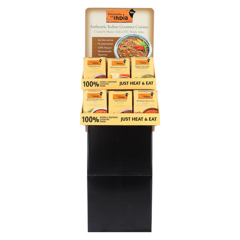 Kitchen Of India Meal Shipper - Case Of 36 - 10 Oz