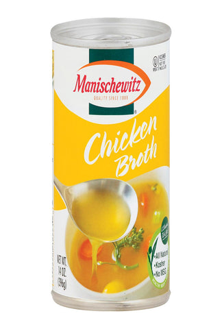 Manischewitz Chicken Broth - Case Of 12 - 14 Fl Oz.