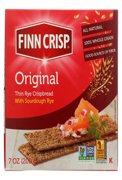 Finn Crisp Original - Whole Grain - Case Of 9 - 7 Oz.