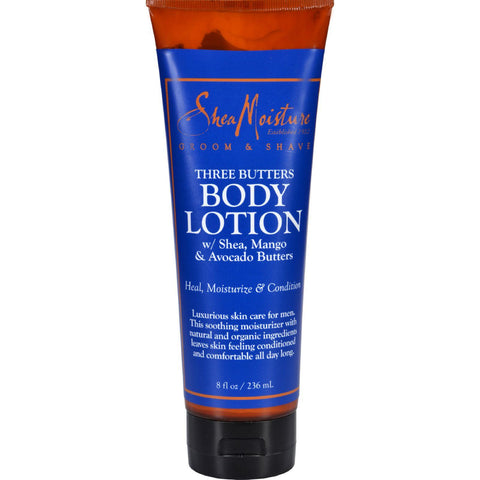 Sheamoisture Lotion - Three Butters - Men - 8 Oz