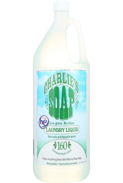 Charlies Soap Laundry Detergent - 128 Loads - Liquid - 128 Oz - Case Of 4
