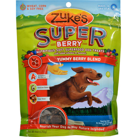 Zuke's Super Berry Blend Treats - 6 Oz