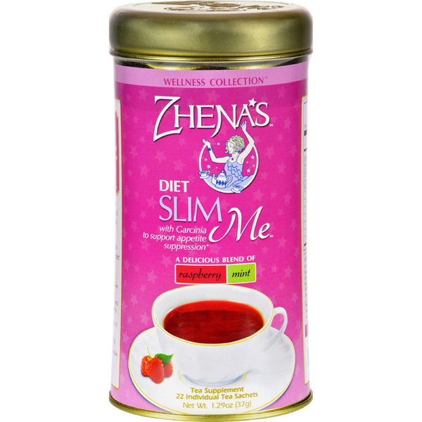 Zhena's Gypsy Tea Slim Me Raspberry Mint - Case Of 6 - 22 Bags