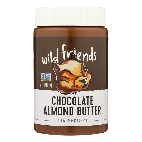 Wild Friends Chocolate Almond Butter - Case Of 6 - 16 Oz