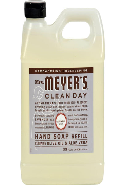 Mrs. Meyer's Liquid Hand Soap Refill - Lavender - 33 Lf Oz - Case Of 6