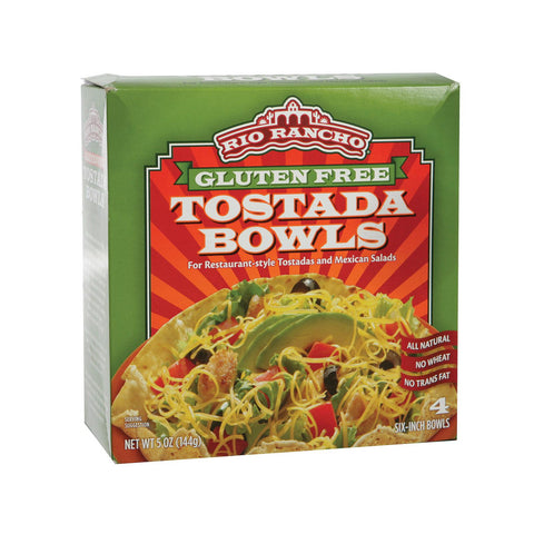 Rio Rancho Tostada Bowls - Case Of 6 - 5 Oz.
