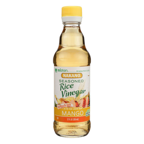 Nakano Seasoned Rice Vinegar - Case Of 6 - 12 Fl Oz.