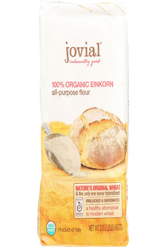 Jovial Flour - Organic - Einkorn - All-purpose - 32 Oz - Case Of 10