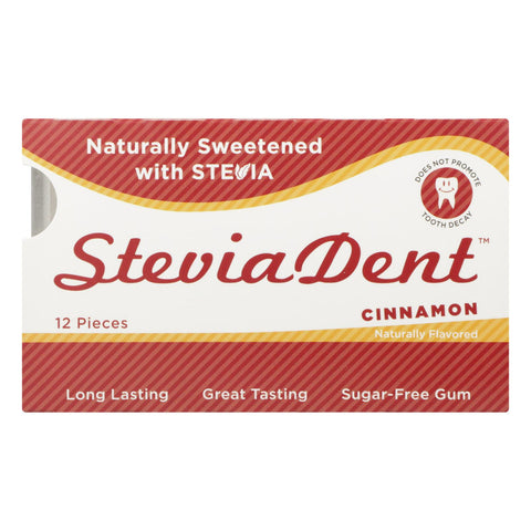 Stevita - Stevita Cinnamon Gum - Case Of 12 - 12 Ct