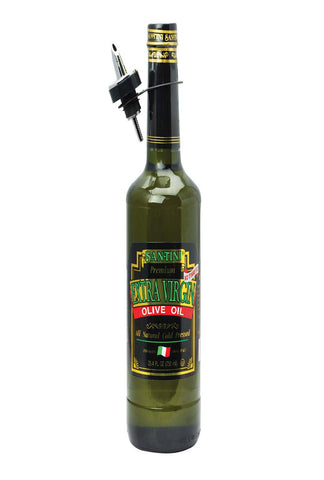 Santini Foods Olive Oil - Extra Virgin - Case Of 12 - 25.4 Fl Oz