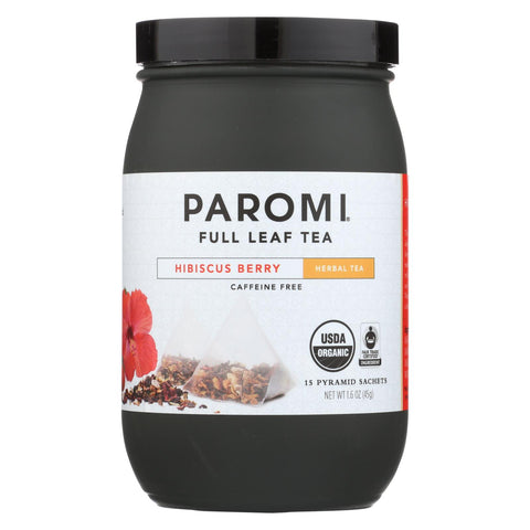 Paromi Tea Organic Paromi Hibiscus Berry - Case Of 6 - 15 Count