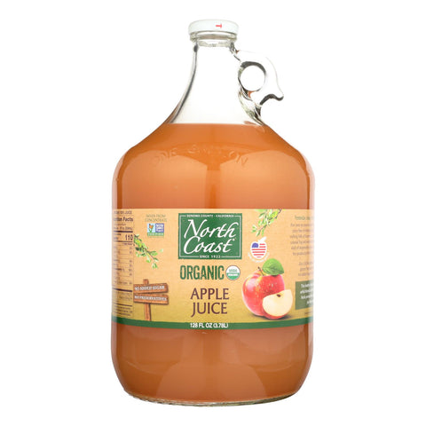 North Coast Organic Apple Juice  - Case Of 4 - 1 Gal