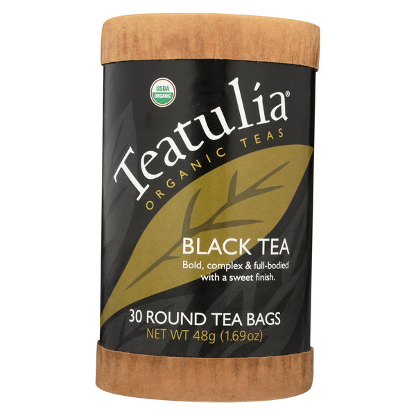 Teatulia Organic Black Tea - Case Of 6 - 30 Count