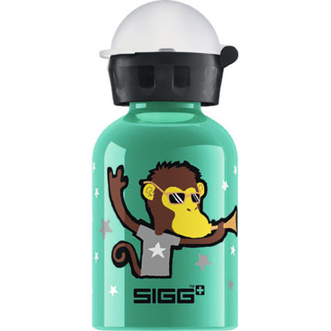 Sigg Water Bottle - Go Team - Monkey Elephant - .3 Liters - Case Of 6