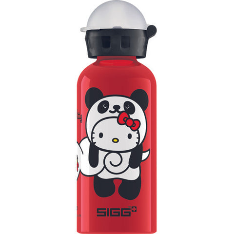 Sigg Water Bottle - Kitty Panda - Red - Case Of 6 - .4 Liter