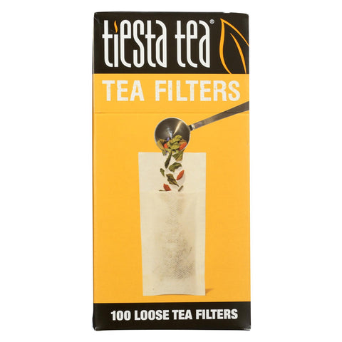 Tiesta Tea Filters - Case Of 6 - 100 Count