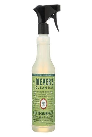 Mrs. Meyers Clean Day - Multi-surface Everyday Cleaner - Iowa Pine - Case Of 6 - 16 Fz