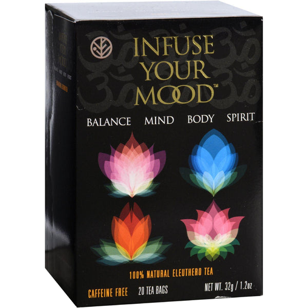 Sun Chlorella Sun Eleuthero Tea - Infuse Your Mood - 20 Tea Bags