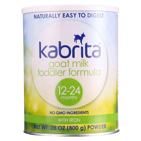 Kabrita Goat Milk Toddler Formula - 12-24 Months - Case Of 6 - 28 Oz