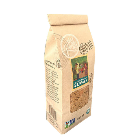 The Real Company Raw Cane Sugar - Case Of 6 - 16 Oz.