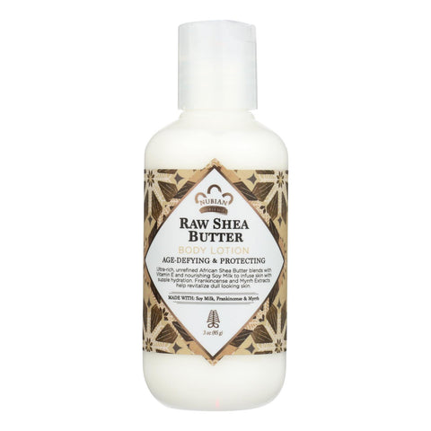 Nubian Heritage Raw Shea Butter Body Lotion  - Case Of 24 - 3 Fz