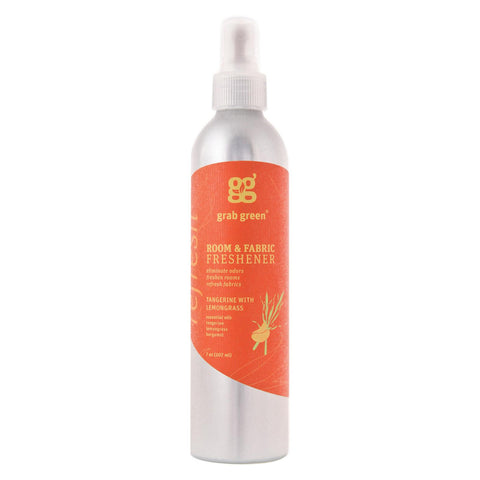 Grab Green Room & Fabric Freshener - Tangerine Lemongrass - Case Of 6 - 7 Fl Oz