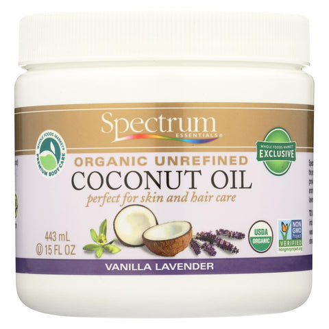 Spectrum Essentials - Coconut Oil Lavender Vanilla Unr - 15 Fz
