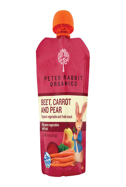 Peter Rabbit Organics Veggie Snack - Beet, Carrot And Pear - Case Of 10 - 1