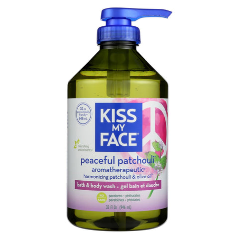Kiss My Face Body Wash - Patchouli - 32 Oz