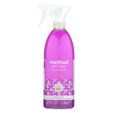 Method Products All Purpose Cleaner - Wildflower - Case Of 8 - 28 Fl Oz.