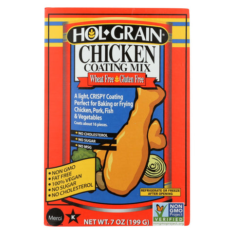 Holgrain Coating Mix - Chicken - Case Of 6 - 7 Oz.