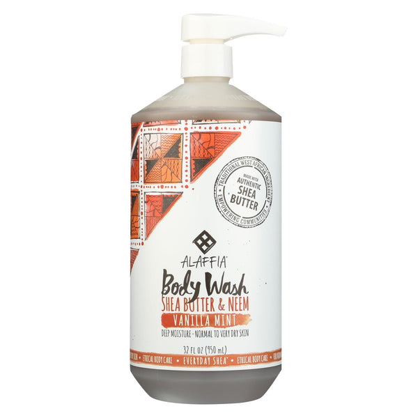 Alaffia - Everyday Body Wash - Shea Vanilla - 32 Oz.