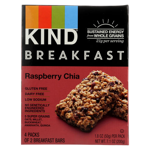 Kind Raspberry Chia - Case Of 8 - 1.8 Oz.